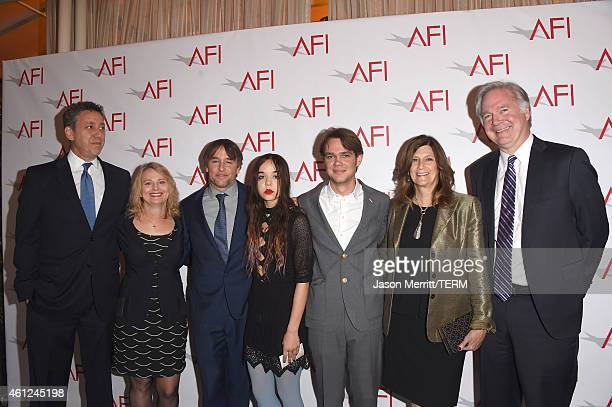 """Director Richard Linklater and cast and crew from """"Boyhood"""" attend the 15th Annual AFI Awards at Four Seasons Hotel Los Angeles at Beverly Hills on..."""