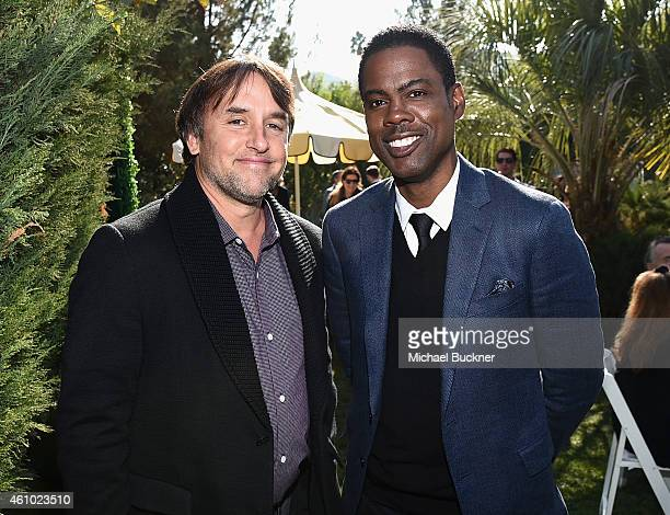 Director Richard Linklater and honoree Chris Rock attend Variety's Creative Impact Awards and 10 Directors To Watch brunch presented by Mercedes Benz...