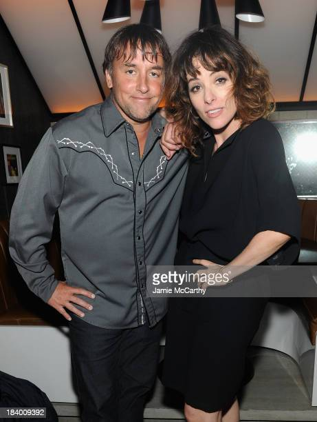 Director Richard Linklater and Parker Posey attend the 'Dazed And Confused' 20th Anniversary Screening 'Only Lovers Left Alive' Premiere during the...