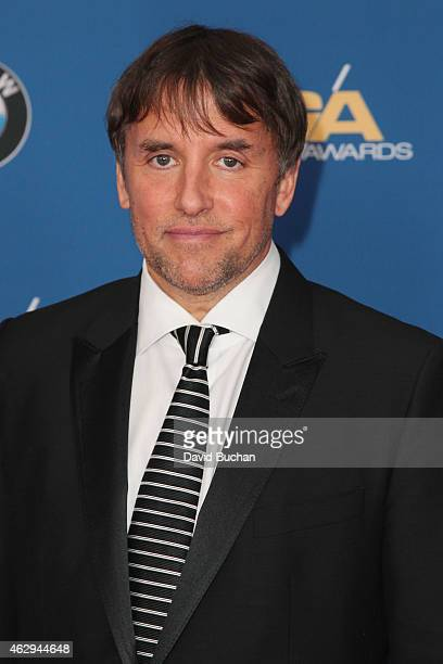 Director Richard Linklater attends the 67th Annual Directors Guild Of America Awards at the Hyatt Regency Century Plaza on February 7 2015 in Century...