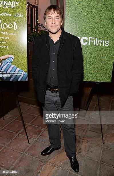 Director Richard Linklater attends the AMC Networks and IFC Films Spirit Awards After Party on February 21 2015 in Santa Monica California