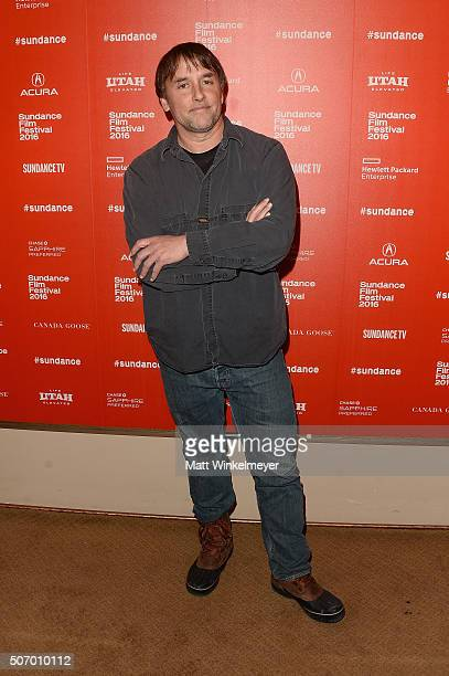 Director Richard Linklater attends the 'Dazed And Confused' Special Screening during the 2016 Sundance Film Festival at Egyptian Theatre on January...