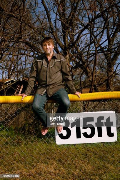 Director Richard Linklater is photographed for Men's Journal Magazine on February 16 2016 in Austin Texas