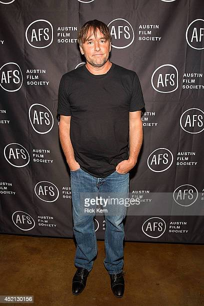 Director Richard Linklater poses for a photo during the premiere of 'Boyhood' at Marchesa Hall & Theater on July 13, 2014 in Austin, Texas.