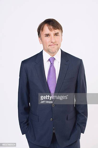 Director Richard Linklater poses for a portraits at the 87th Academy Awards Nominee Luncheon at the Beverly Hilton Hotel on February 2 2015 in...
