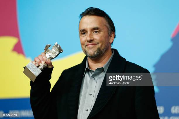 Director Richard Linklater winner of the Silver Bear for Best Director attends the award winners press conference during 64th Berlinale International...