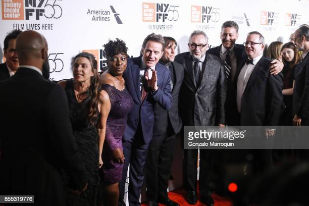 Director Richard Linklater with cast members Bryan Cranston Laurence Fishburne JQuinton Johnson Deanna Reed Foster and screenwriter Darryl Ponicsan...
