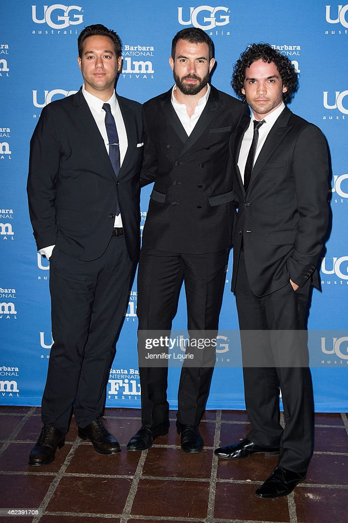 Director Richard Raymond, actors Tom Cullen and Reece Ritchie attend the Opening Night of the 30th Santa Barbara International Film Festival featuring 'Desert Dancer' at the Arlington Theatre on January 27, 2015 in Santa Barbara, California.