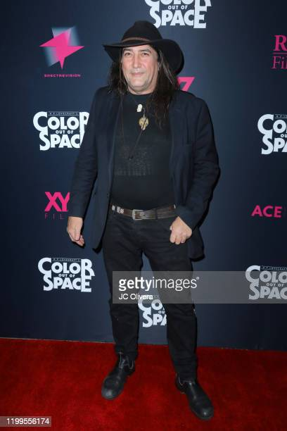 Director Richard Stanley attends the special screening of Color Out Of Space at the Vista Theatre on January 14 2020 in Los Angeles California