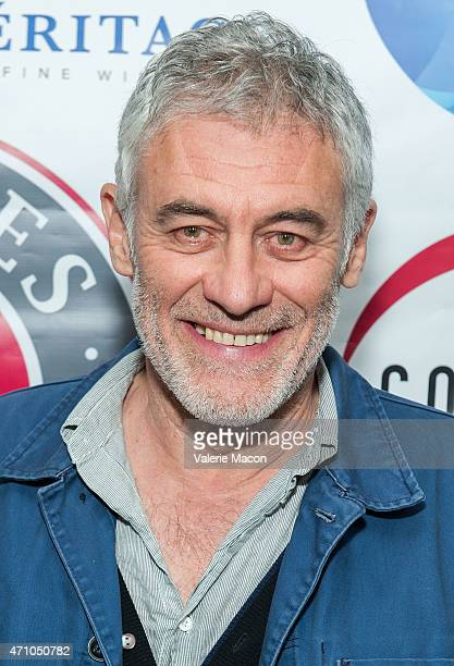 Director rick Zonca arrives at COLCOA French Film Festival Barnes After Party at Heritage Fine Wines on April 24 2015 in Beverly Hills California