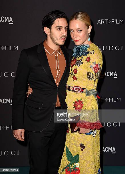 Director Ricky Saiz and actress Chloe Sevigny wearing Gucci attend LACMA 2015 ArtFilm Gala Honoring James Turrell and Alejandro G Iñárritu Presented...