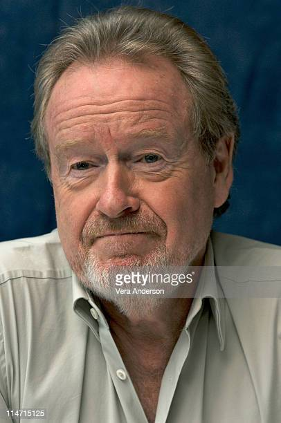 Director Ridley Scott at the American Gangster press conference at the Mandarin Oriental Hotel on October 19 2007 in New York City