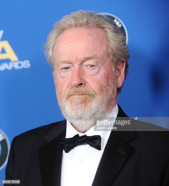 Director Ridley Scott attends the 69th annual Directors Guild of America Awards at The Beverly Hilton Hotel on February 4 2017 in Beverly Hills...