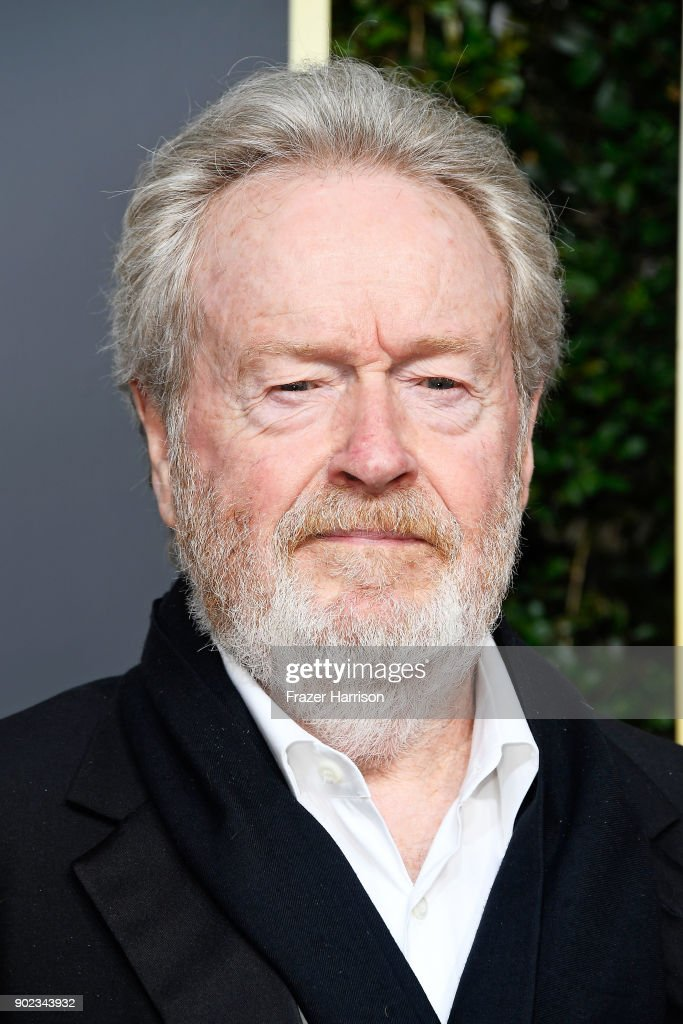 Director Ridley Scott attends The 75th Annual Golden Globe Awards at The Beverly Hilton Hotel on January 7, 2018 in Beverly Hills, California.