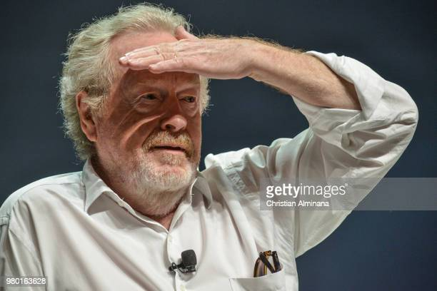 Director Ridley Scott attends the Cannes Lions Festival 2018 on June 21 2018 in Cannes France