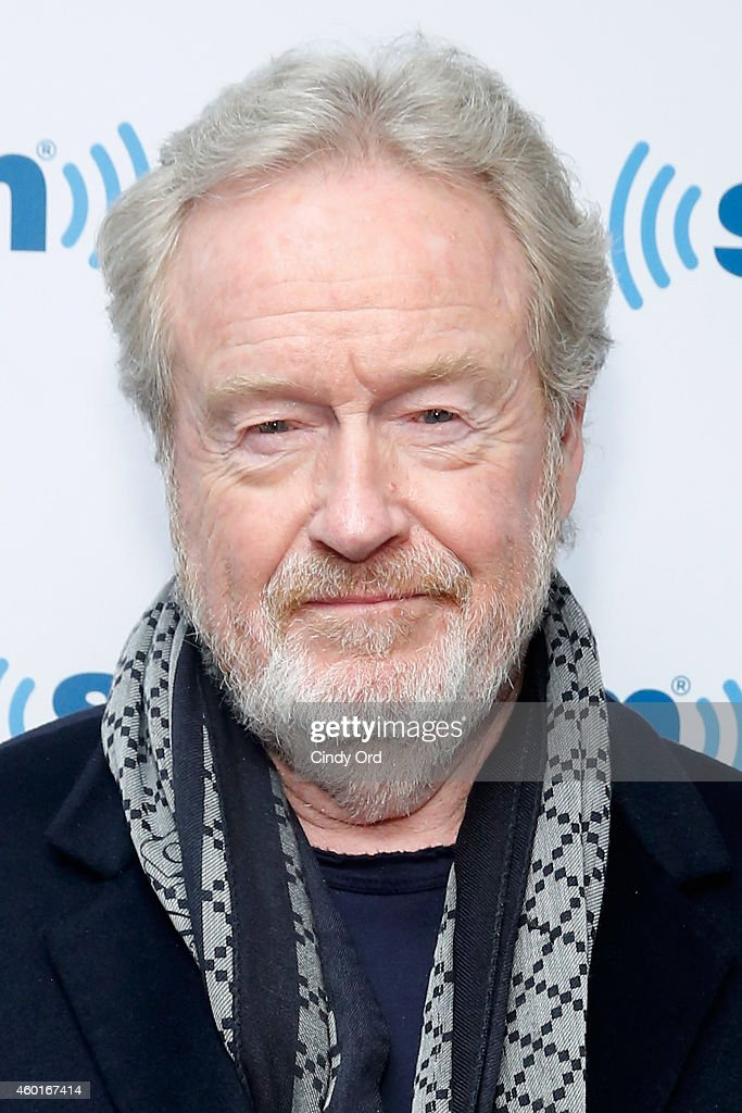 Director Ridley Scott visits the SiriusXM Studio on December 8, 2014 in New York City.