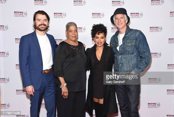Director RJ Daniel Hanna film subject and Executive Producer Virginia Walden Ford actors Amirah Vann and Matthew Modine attend the Miss Virginia New...