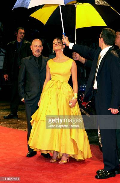 Director Rob Cohen Asia Argento during Deauville 2002 'XXX' Premiere at CID Deauville in Deauville France