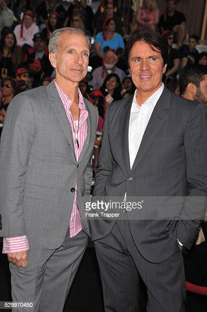 Director Rob Marshall and guest arrive at the World Premiere of Walt Disney Pictures' 'Pirates of the Caribbean On Stranger Tides' held at Disneyland...