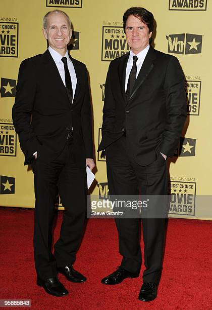 Director Rob Marshall and John DeLuca arrive at the 15th annual Critics' Choice Movie Awards held at Hollywood Palladium on January 15 2010 in...