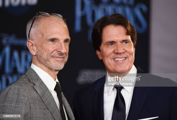 Director Rob Marshall and producer John DeLuca arrive at the premiere of Disney's 'Mary Poppins Returns' at the El Capitan Theatre on November 29...