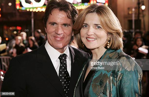 Director Rob Marshall and screenwriter Robin Swicord attend the Los Angeles premiere of Columbia Pictures' 'Memoirs of a Geisha' on December 4 2005...