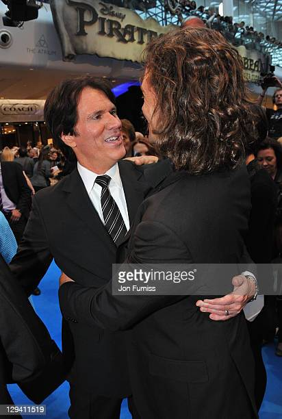 Director Rob Marshall arrives for the UK Premiere of 'Pirates Of The Caribbean On Stranger Tides' at Vue Westfield on May 12 2011 in London England