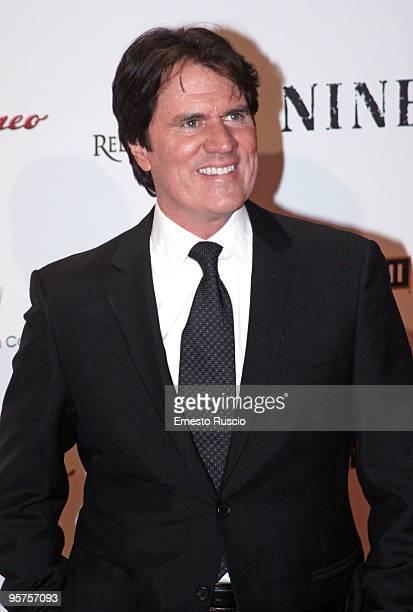 Director Rob Marshall attends the 'Nine' premiere at Auditorium Della Conciliazione on January 13 2010 in Rome Italy