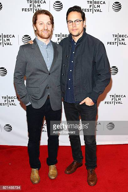 Director Rob Meyer and producer Cary Fukunaga attend 'Little Boxes' Premiere 2016 Tribeca Film Festival at Chelsea Bow Tie Cinemas on April 15 2016...