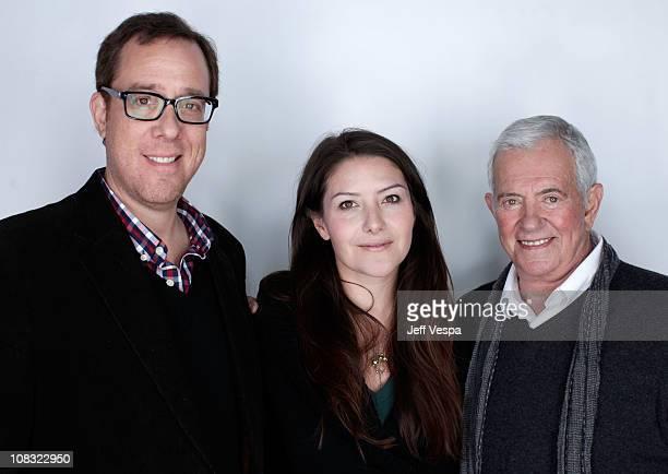 Director Rob Minkoff producers Tamara Stuparich de la Barra and Mark Damon pose for a portrait during the 2011 Sundance Film Festival at the...