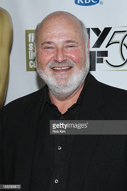 """Director Rob Reiner attends the 25th Anniversary Screening & Cast Reunion Of """"The Princess Bride"""" During The 50th New York Film Festival at Alice..."""