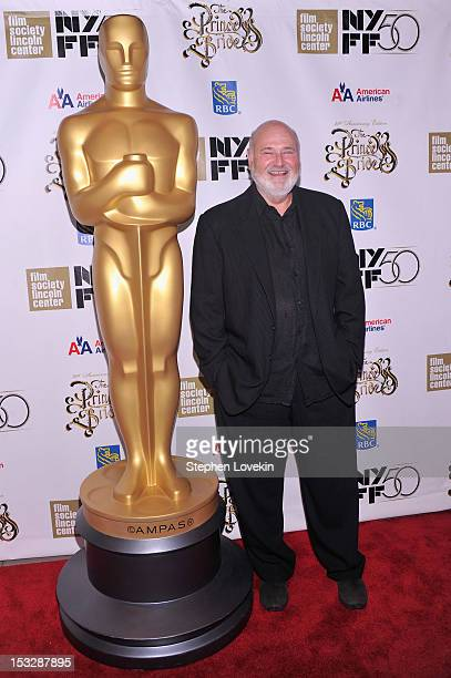 Director Rob Reiner attends the 25th anniversary screening cast reunion of 'The Princess Bride' during the 50th New York Film Festival at Alice Tully...