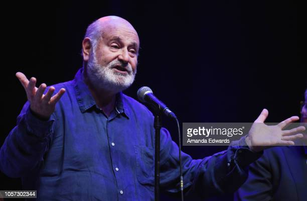 Director Rob Reiner attends the Los Angeles leg of Stephanie Miller's Sexy Liberal Blue Wave Tour at The Saban Theatre on November 3 2018 in Beverly...
