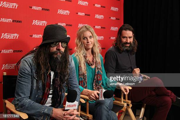 Director Rob Zombie actress Sheri Moon and actor Jeffrey Daniel Phillips attend the Variety Studio Presented By Moroccanoil during the Toronto...