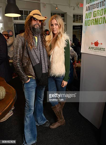 Director Rob Zombie and actress Sheri Moon Zombie attend Applegate's 'Reel Food' Cafe featuring Wholly Guacamole during the 2016 Sundance Film...