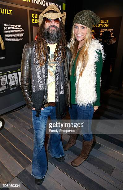 Director Rob Zombie and actress Sheri Moon Zombie attend the Eddie Bauer Adventure House during the 2016 Sundance Film Festival at Village at The...