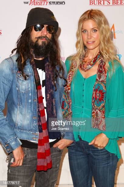 Director Rob Zombie and actress Sheri Moon Zombie attend the Variety Studio Presented By Moroccanoil during the Toronto International Film Festival...