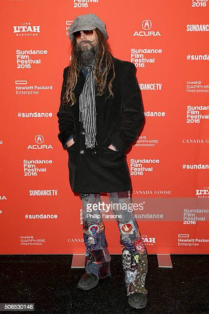 Director Rob Zombie attends the '31' Premiere during the 2016 Sundance Film Festival at Library Center Theater on January 23 2016 in Park City Utah