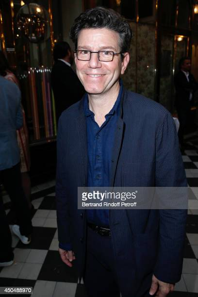 Director Robert Carsen attends the 'Eugenia Grandchamp Des Raux' Danse Exhibition at Galerie Pierre Passebon on June 10 2014 in Paris France