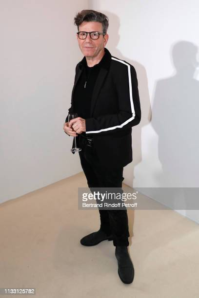 Director Robert Carsen attends the LVMH Prize 2019 Edition at Louis Vuitton Avenue Montaigne Store on March 01 2019 in Paris France