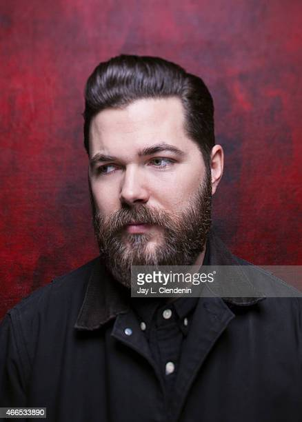 Director Robert Eggers is photographed for Los Angeles Times at the 2015 Sundance Film Festival on January 24 2015 in Park City Utah PUBLISHED IMAGE...
