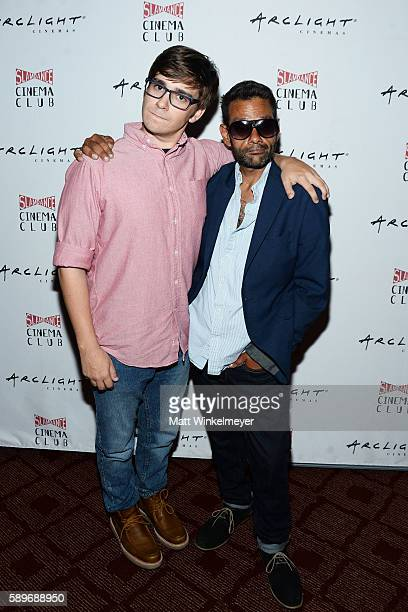 Director Robert G Putka and actor Shaun Weiss attend the screening of Caterpillar Event Productions' Mad at ArcLight Hollywood on August 14 2016 in...
