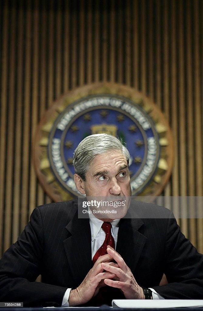 I. Director Robert Mueller holds a news conference at the bureau's headquaters March 9, 2007 in Washington, DC. Mueller was responding to a report by the Justice Department inspector general that concluded the FBI had committed 22 violations in its collection of information through the use of national security letters. The letters, which the audit numbered at 47,000 in 2005, allow the agency to collect information like telephone, banking and e-mail records without a judicially approved subpoena.