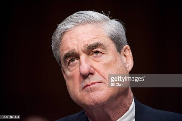 Director Robert Mueller testifies during the Senate Intelligence Committee hearing on the 'Worldwide Threat' on Wednesday Feb 16 2011