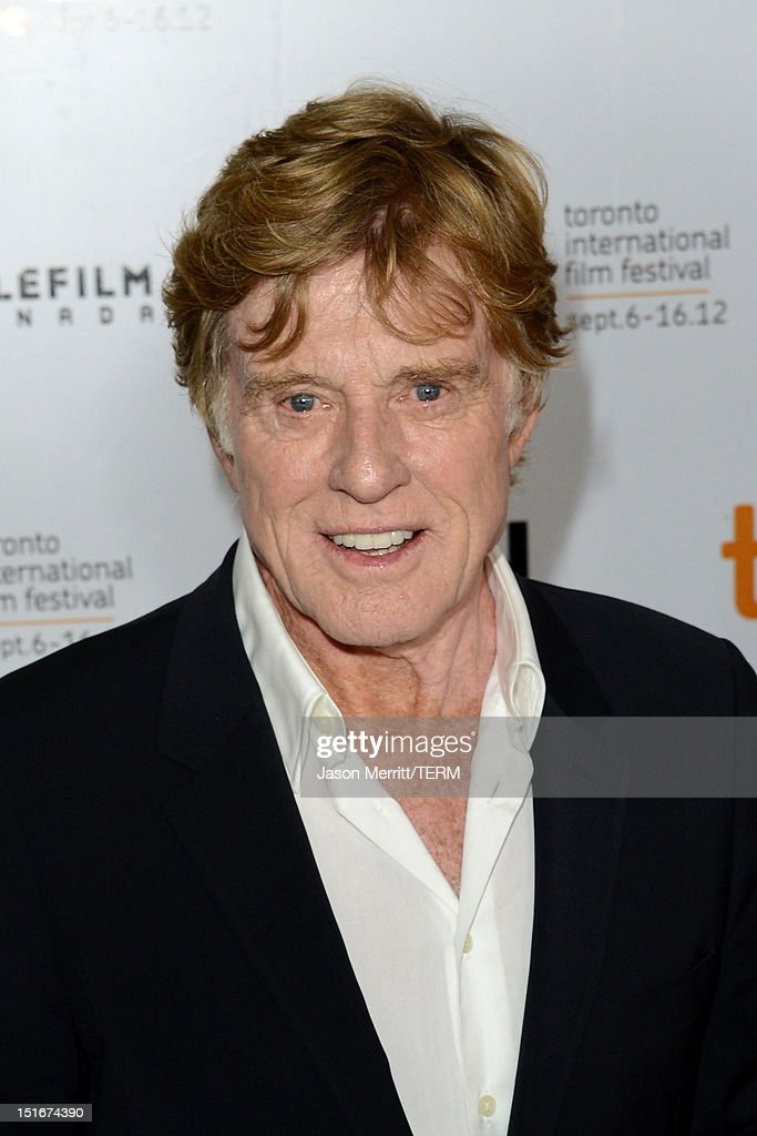 Director Robert Redford arrives at 'The Company You Keep' Premiere at the 2012 Toronto International Film Festival at Roy Thomson Hall on September 9, 2012 in Toronto, Canada.