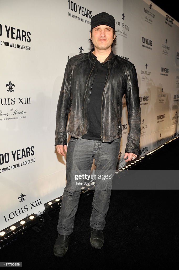 Director Robert Rodgriguez attends Louis XIII Celebration of '100 Years' The Movie You Will Never See, starring John Malkovich at a private residence on November 18, 2015 in Beverly Hills, California.