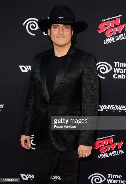 Director Robert Rodriguez attends Premiere of Dimension Films' Sin City A Dame To Kill For at TCL Chinese Theatre on August 19 2014 in Hollywood...