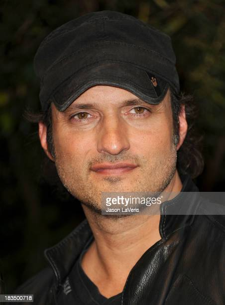 Director Robert Rodriguez attends the 'Machete Kills' press conference at Four Seasons Hotel Los Angeles at Beverly Hills on October 6 2013 in...