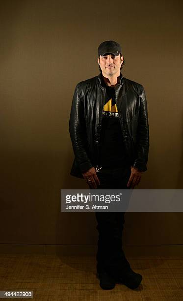 Director Robert Rodriguez is photographed for Los Angeles Times on February 24 2014 in New York City