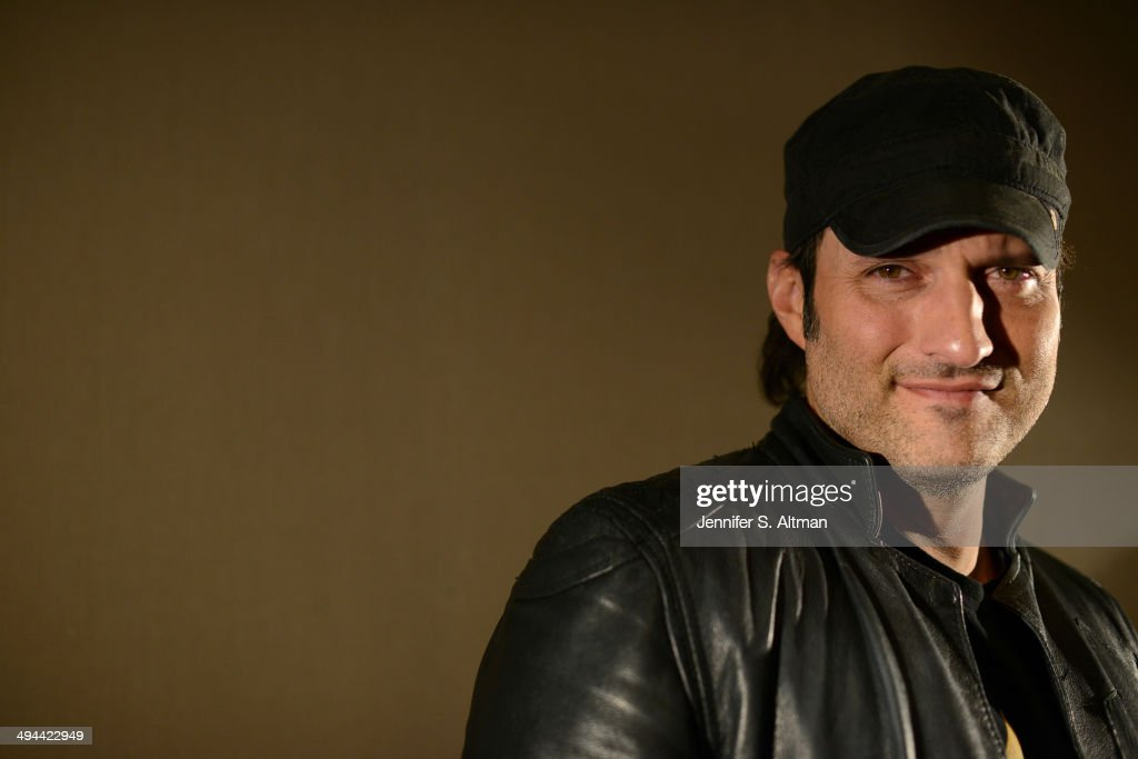 Director Robert Rodriguez is photographed for Los Angeles Times on February 24, 2014 in New York City.